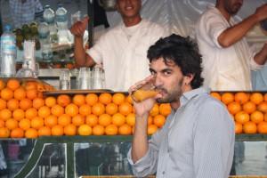 Dario, profesor de la escuela