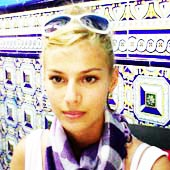 Mila Anastasova, alumna agosto 2012